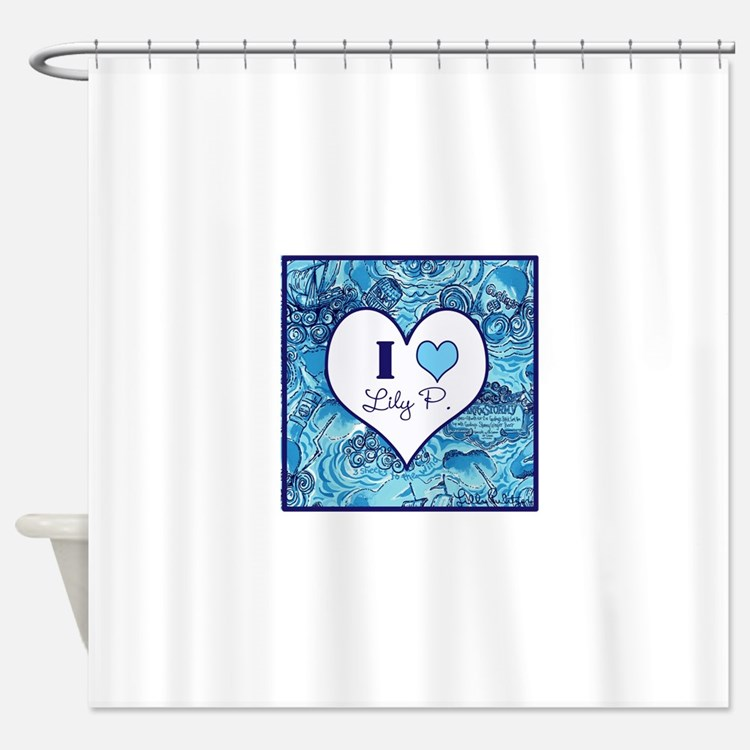 Lilly Shower Curtains | Lilly Fabric Shower Curtain Liner
