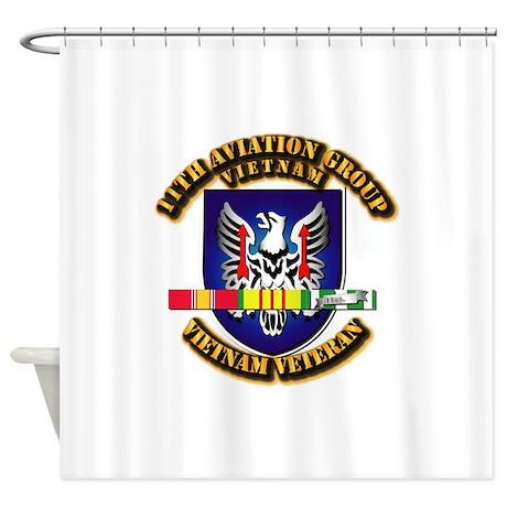 Army - 11th Aviation Gp w Vietnam SVC Ribbons Show