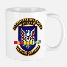Army - 11th Aviation Gp w Vietnam SVC Ribbons Mug