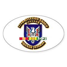 Army - 11th Aviation Gp w Vietnam SVC Ribbons Stic