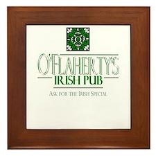 Irish Special Dark Framed Tile