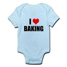 I Love Baking Body Suit
