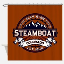 Steamboat Vibrant Shower Curtain