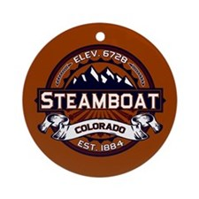Steamboat Vibrant Ornament (Round)