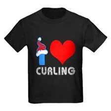 I Love Curling T