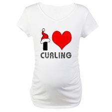 I Love Curling Shirt