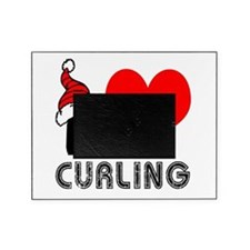 I Love Curling Picture Frame