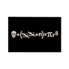 Pirate Formula Rectangle Magnet (10 pack)