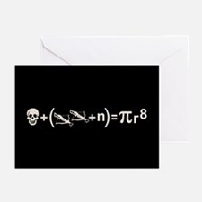 Pirate Formula Greeting Cards (Pk of 10)