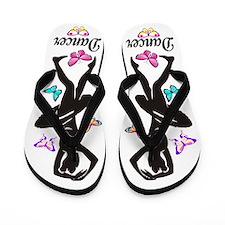 DANCING STAR Flip Flops