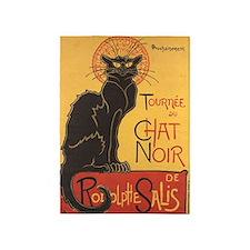 Le Chat Noir, Vintage Poster, Steinlen 5'x7'Area R