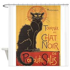 Le Chat Noir, Vintage Poster, Steinlen Shower Curt