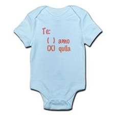 Te amo or Tequila Body Suit