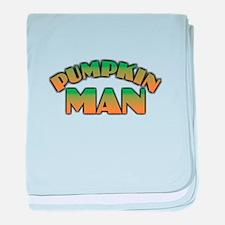 Pumpkin Man baby blanket