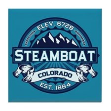 Steamboat Ice Tile Coaster