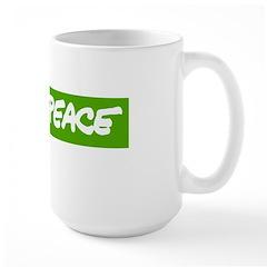 Large Greenpeace Mug