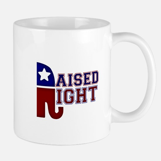 Raised Right Mug