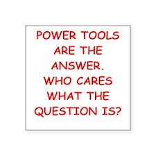 power tools Sticker