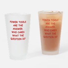 power tools Drinking Glass