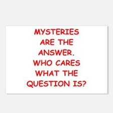 mystery Postcards (Package of 8)