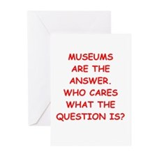 museums Greeting Cards (Pk of 10)