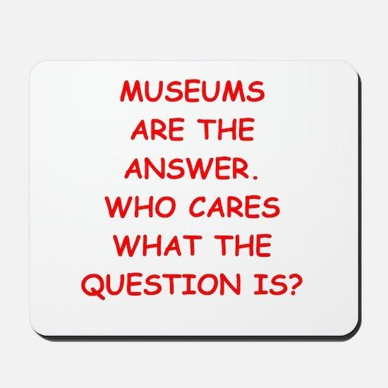 museums Mousepad