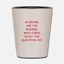 museums Shot Glass