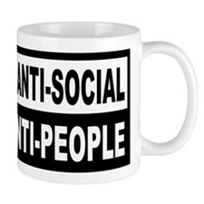 Anti-Social Anti-People Mug