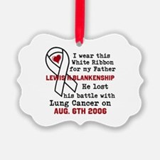 Personalize Name and Date Ornament
