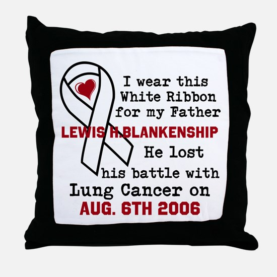 Personalize Name and Date Throw Pillow