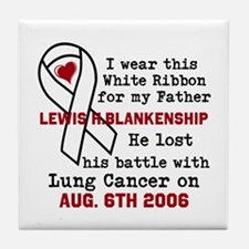 Personalize Name and Date Tile Coaster