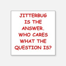 jitterbug Sticker