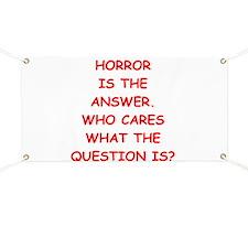 horror Banner