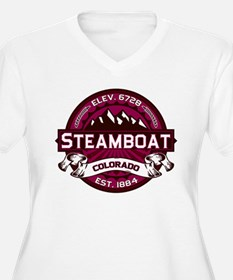 Steamboat Raspberry T-Shirt