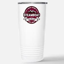 Steamboat Raspberry Stainless Steel Travel Mug