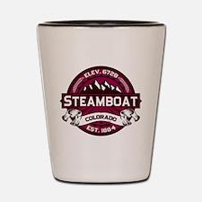 Steamboat Raspberry Shot Glass