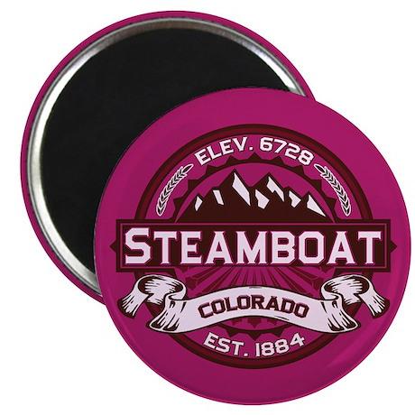 Steamboat Raspberry Magnet