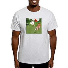 Chow Golfing Ash Grey T-Shirt