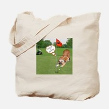 Chow Golfing Tote Bag