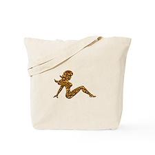 Animal Print Trucker GIrl Tote Bag