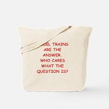 model trains Tote Bag