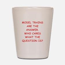 model trains Shot Glass