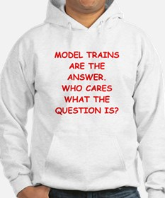 model trains Hoodie