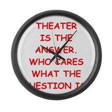 theater Large Wall Clock