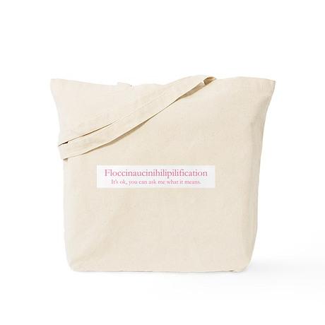 I.e. Worthless on Tote Bag