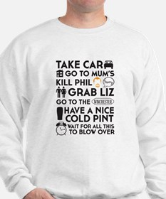 SHAUN OF THE DEAD TO DO LIST 2 Sweater
