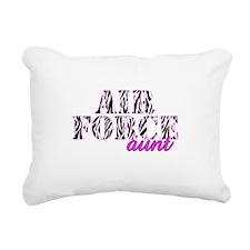 AF Aunt Zebra Rectangular Canvas Pillow