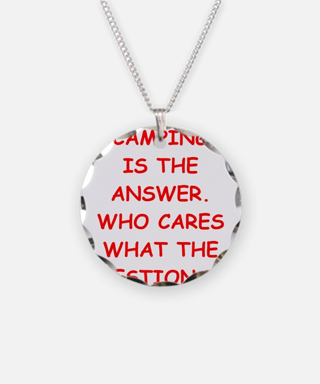 camping Necklace