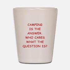 camping Shot Glass