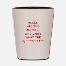 books Shot Glass